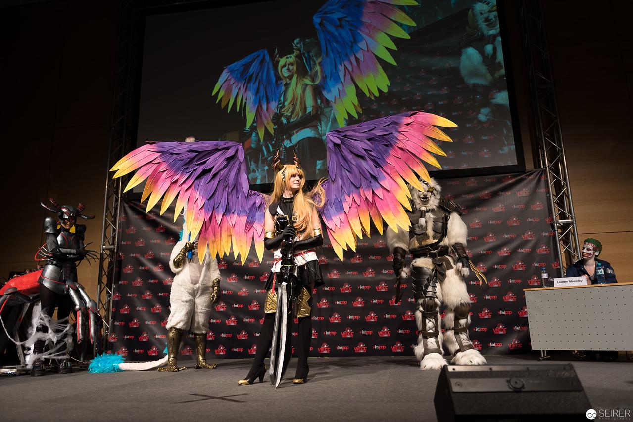 Vienna ComicCon Cosplay Contest 2016 - Olivia from Rage of Bahamut / FX, Cosplay: Michiyo Nakajima
