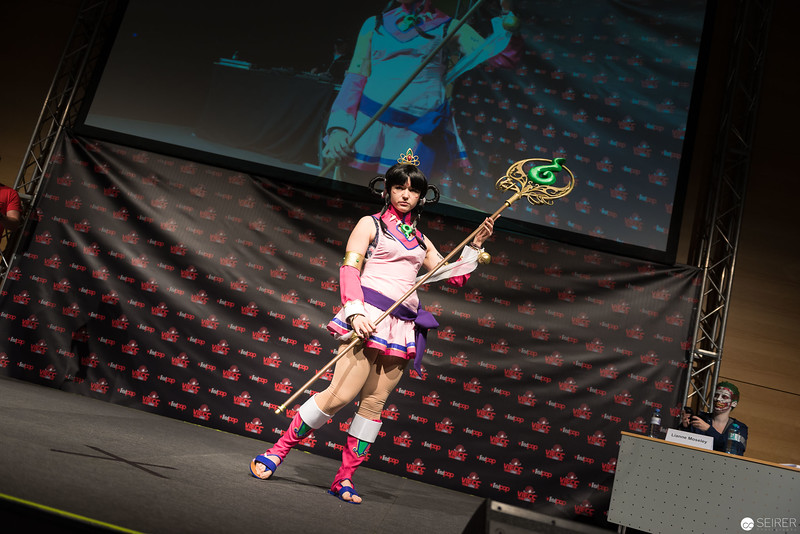 Vienna ComicCon Cosplay Contest 2016 - Rayfa Padma Khurain from Ace Attorney – Spirit of Justice / Needlework, Cosplay: AHu