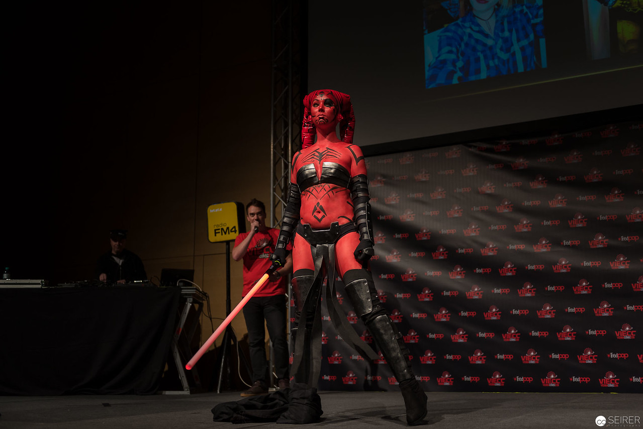 Vienna ComicCon Cosplay Contest 2016: Narga from Star Wars Legacy / Armor, Cosplay: Narga-chan Cosplay