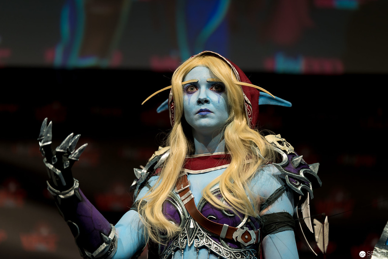 Vienna ComicCon Cosplay Contest 2016 - Sylvanas Windrunner from World of Warcraft / Armor, Cosplay: Bloody Baroness Cosplay