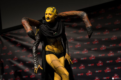 Vienna ComicCon Cosplay Contest 2016: D'Vorah from Mortal Kombat X / FX, Cosplay: Hong-chan