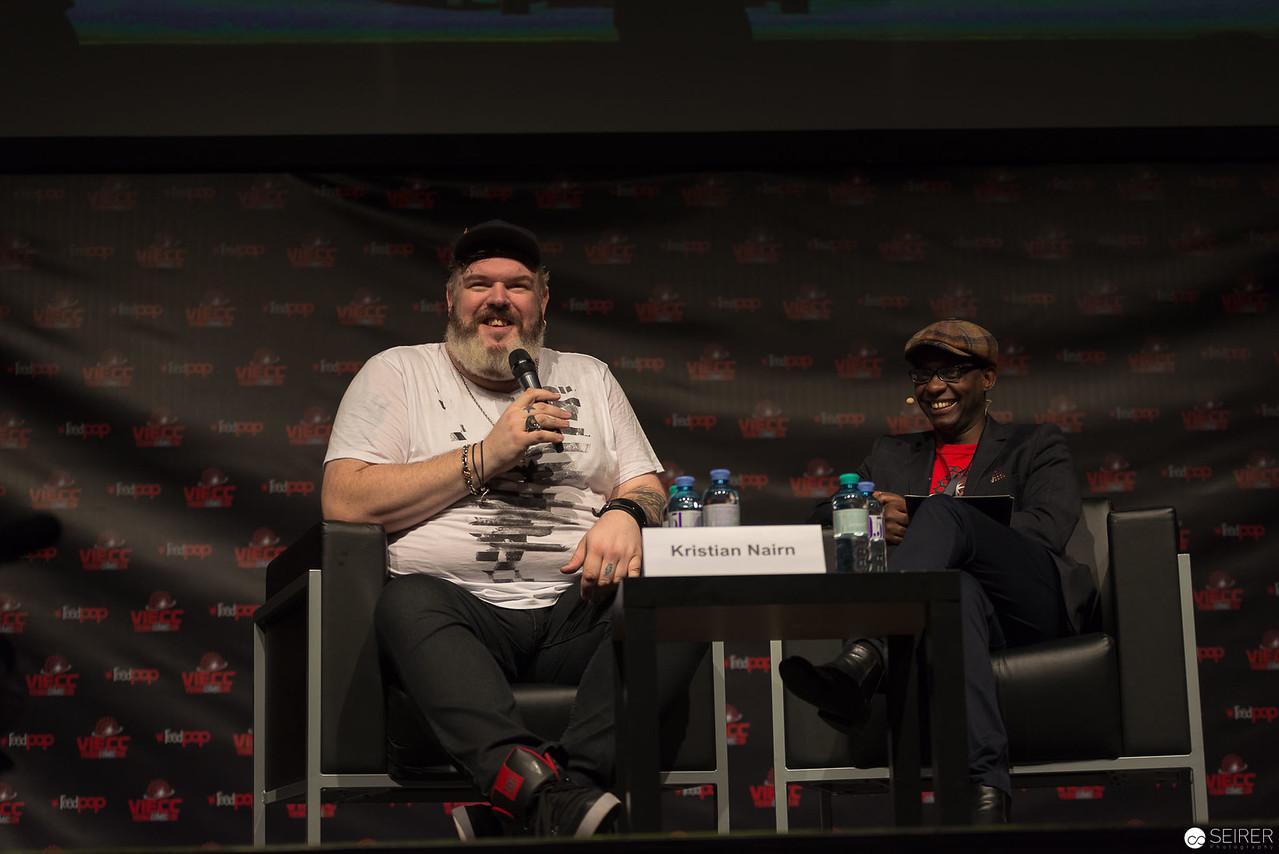 Kristian Nairn @ Vienna ComicCon 2016 VIECC
