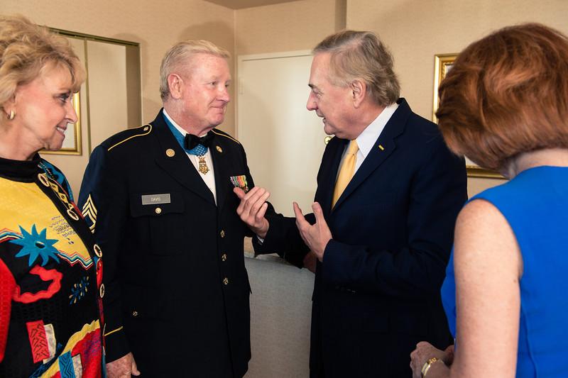 "Chicago Vietnam Veterans Memorial Fund Education Center Gala<br /> Chicago Hilton<br /> Saturday August 10 2013<br /> <br /> VIP's<br /> Medal of Honor: Sammy L. Davis<br /> Bill Kurtis<br /> Jan Scruggs<br /> Coronel David Sutherland<br /> John T Coli<br /> Micharl ""Mick: Yeager<br /> Kimberly M. Mitchell"