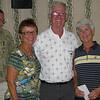 Kent Ward (MC), Vadis Voas, Leonard Murphy, Maureen Schauf - 3rd place winners Photos courtesy of Kent Ward