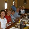 Vadis Voas, Mary Blanchard, Muriel and David Proulx, Walter Carow, Bob Becker, John (guest), Dolores Becker - standing