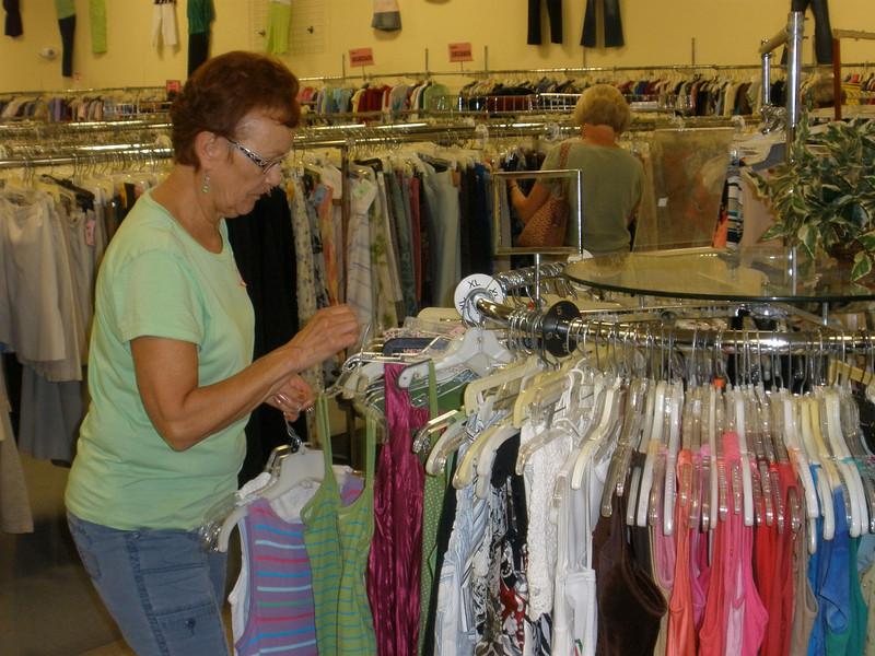Vadis rehanging a clothing item