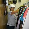 Vadis - sorting through women's clothes