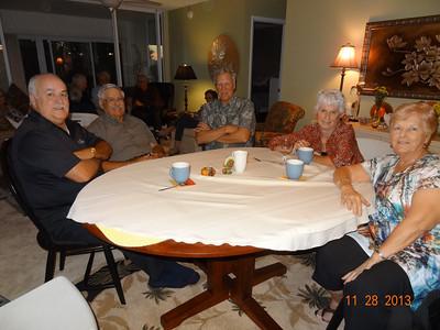 Dave Scott, Jean Aubrey, Doug Ropp, Kathy Scott, Betty Ropp
