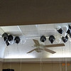 """Balloons depicted the """"black, white and grey"""" theme"""