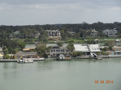 View from Belair Causeway - looking southeast
