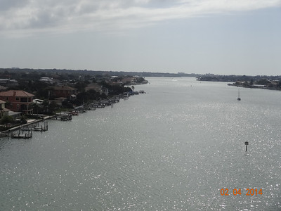 View from Belair Causeway - looking south