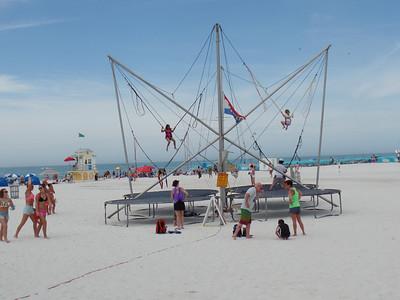 Amusement on the beach