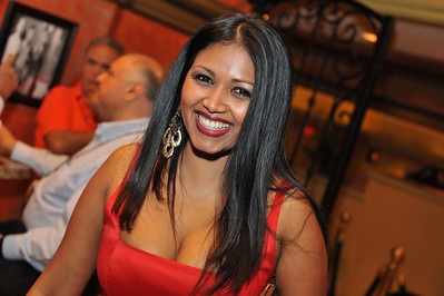 Reisha Roopchand in this picture helps run Vince Neil's Tres Rios Cantina in the Las Vegas Hilton. Rocker Vince Neil opening his Tres Rios cantina and tequila bar in the Las Vegas Hilton Casino Resort.  Tres Rios Tequila is Vince Neil's new single agave tequila made at Tequila Tlaquepaque under the care of the Sanchez Martin Family in Guadalajara, Mexico. This rocker's tequila comes as Tres Rios Silver, Tres Rios Reposado and Tres Rios Anejo. Photograph by Las Vegas photographer Mark Bowers.