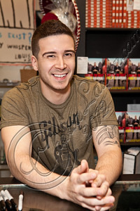 "WEST HOLLYWOOD, CA - MAY 02:  Television personality Vinny Guadagnino signs copies of his new book ""Control the Crazy"" at Book Soup on May 2, 2012 in West Hollywood, California.  (Photo by Chelsea Lauren/FilmMagic)"