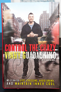 "WEST HOLLYWOOD, CA - MAY 02:  A general view of the atmosphere as television personality Vinny Guadagnino signs copies of his new book ""Control the Crazy"" at Book Soup on May 2, 2012 in West Hollywood, California.  (Photo by Chelsea Lauren/FilmMagic)"