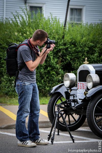 Vintage Car Display, Berwick, July 10, 2013
