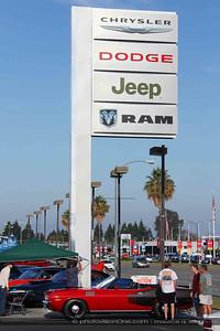 Wade Ogle brings his multi-million dollar '71 HEMI 'cuda convertible.