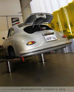 Porsche 356 undergoing restoration.