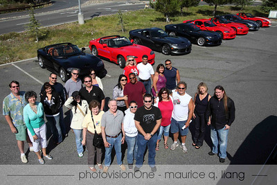 "VCA Nor Cal Region takes a backroad drive to the coast at the ""Twisties to the Coast"" event, July 28, 2012."