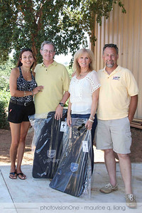 Event hosts Rick and Alyse Matthews and Janis and Glen McAdon.
