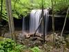 Laurel Falls during a season of water