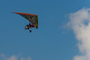 Ultralight Aircraft Flying over Sandbridge beach