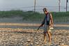 Looking for Treasure on Sandbridge Beach