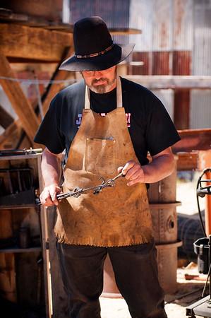 Virginia City Blacksmith Hammer-in 2012