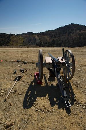 Virginia City Cannon Shoot 2012
