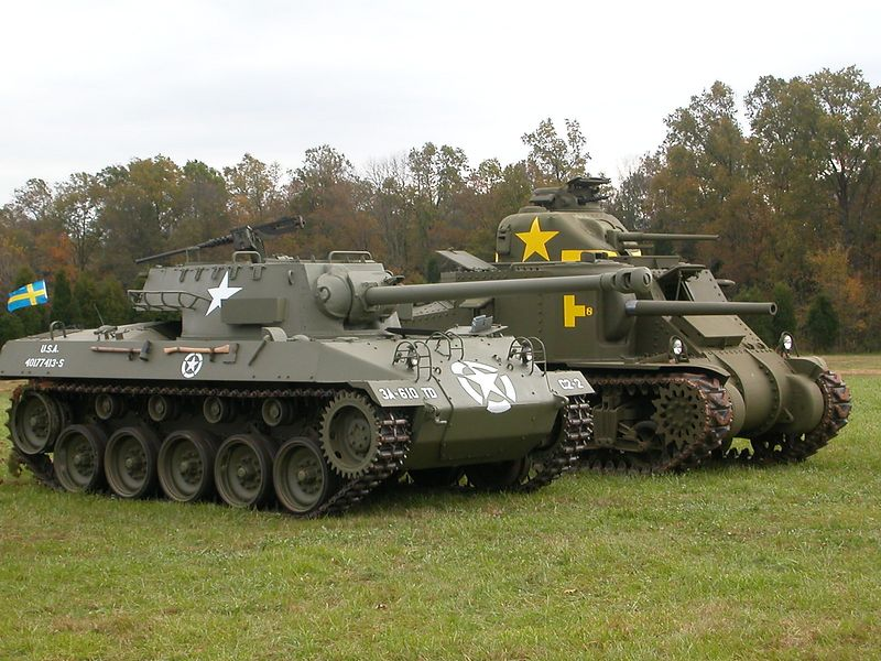 M24 Chaffee and M3 Lee