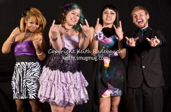 Vista Academy Prom 2014 Portraits