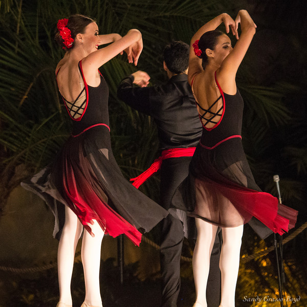 Two Fiesta Dancers