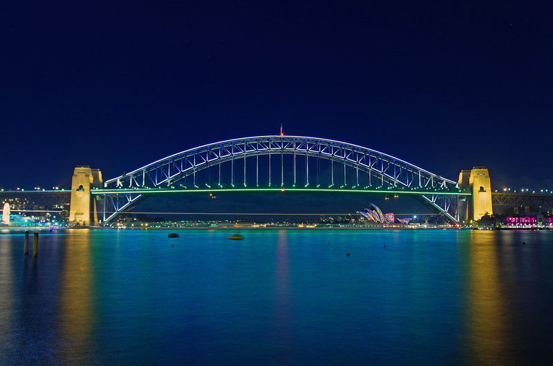 Vivid Sydney Blues Point 1