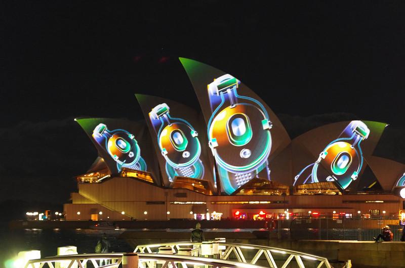 Vivid Sydney Opera House 4