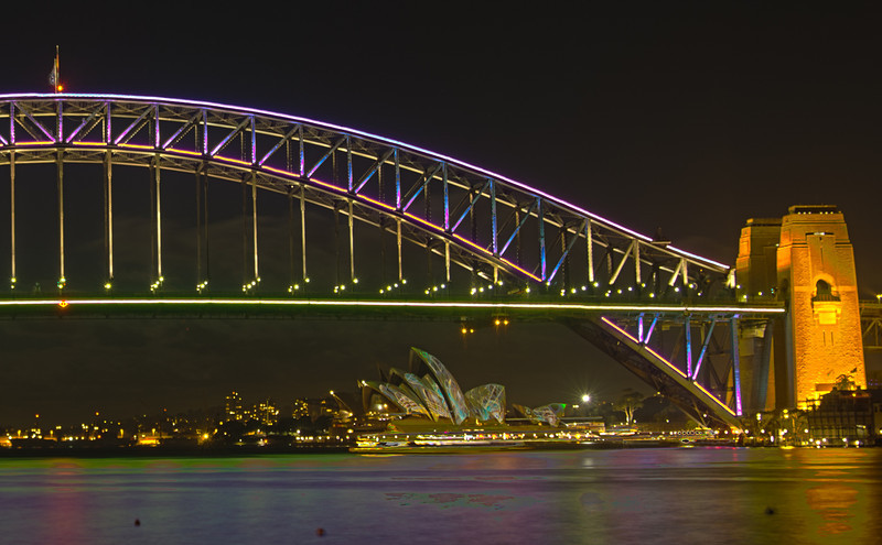 Vivid Sydney Blues Point 2