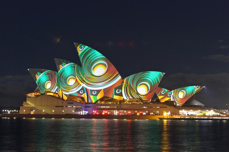 Vivid Sydney Opera House 12