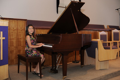 Sarah's first year piano recital