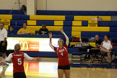 Lutheran West Volleyball vs. Clearview - September 11, 2012
