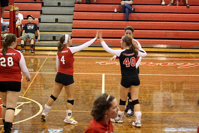 Lutheran West Volleyball vs. Cuyahoga Heights - September 1, 2012