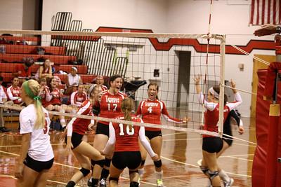 Lutheran West Volleyball vs. Firelands - August 30, 2012
