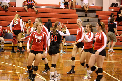 Lutheran West Volleyball vs. Firelands - August 30, 2012