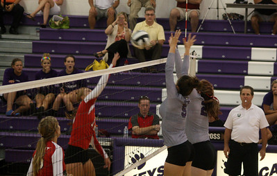 Lutheran West Volleyball vs. Keystone - August 27, 2012