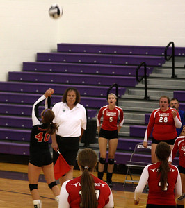Lutheran West Volleyball vs. Lakewood - August 27, 2012