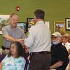 Ed Buzanoski Receives His Award From Steve Henry