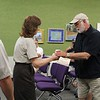Jay Hans Receives His Award From Serena Rinker