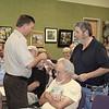 Bill Ross Receives His Award From Steve Henry