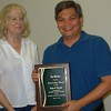 <b>Jay shows off his Outstanding Friend of the Year award</b> March 26, 2015 <i>- Anthony Lang</i>