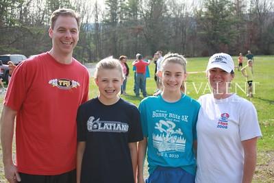 4th Annual Bunny Blitz 5K Trail Run, Before