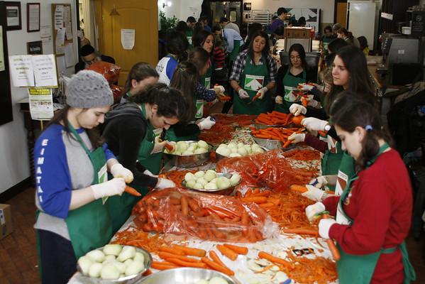 Volunteering at Masbia