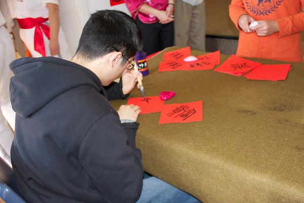 Volunteering for Saratoga Chinese New Year Celebration on 1/28/12